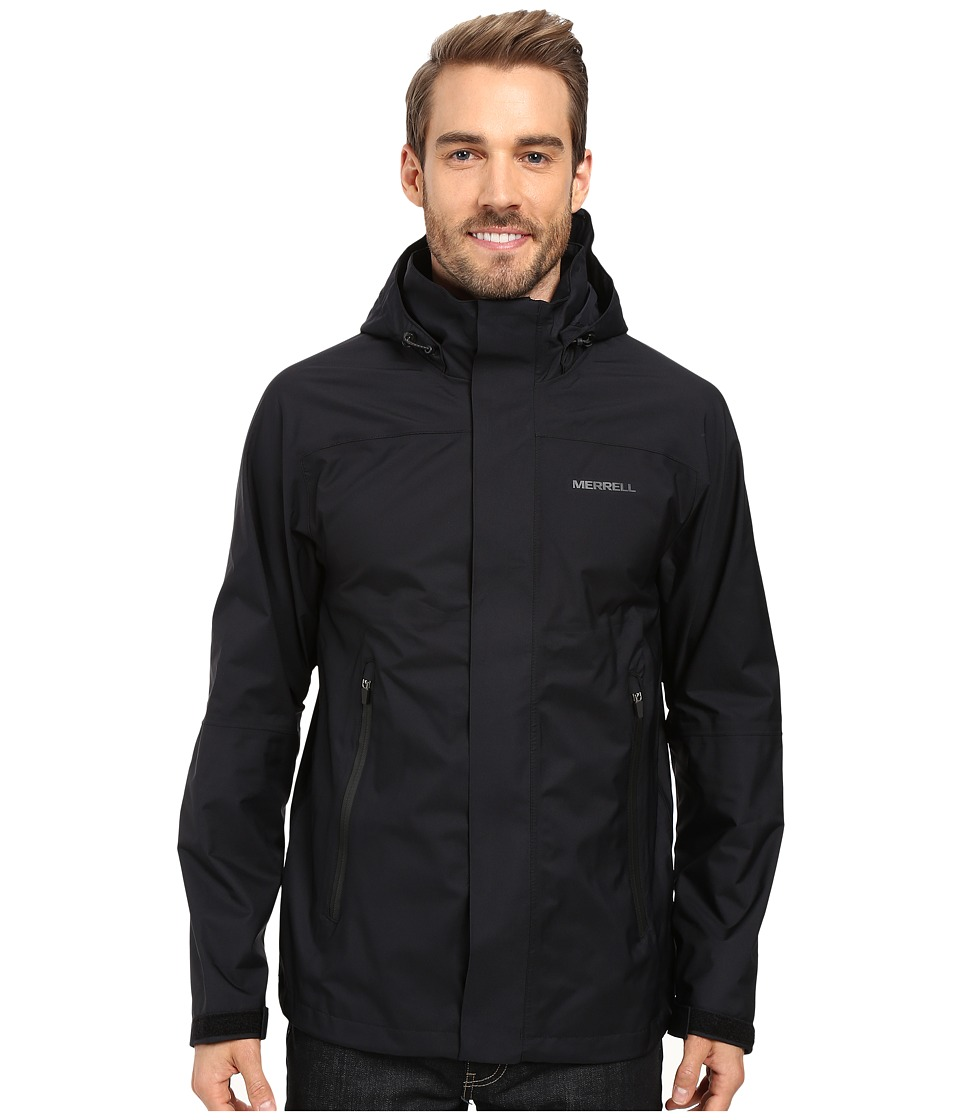 Merrell - New Cascadia Jacket 2.0 (Black) Men's Coat