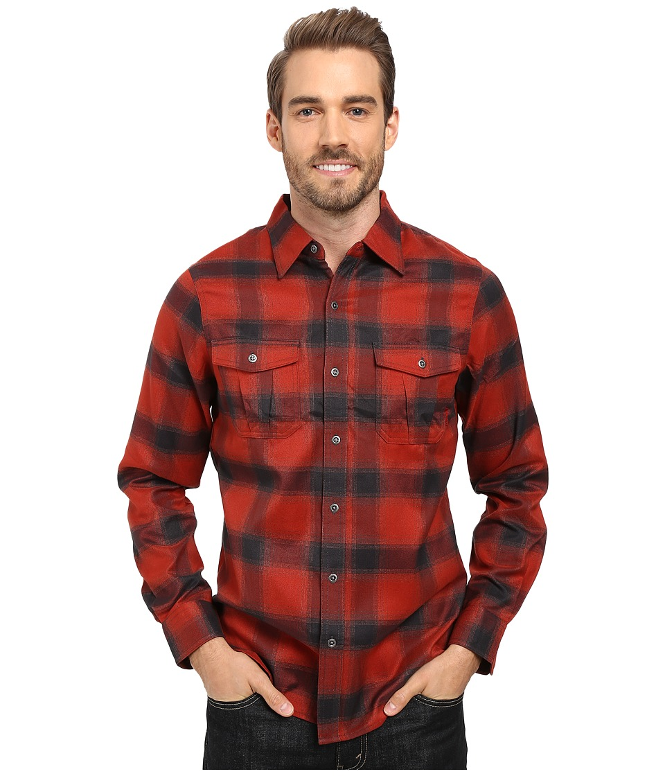 Merrell - Subpolar Flannel (Bossa Nova) Men's Long Sleeve Button Up