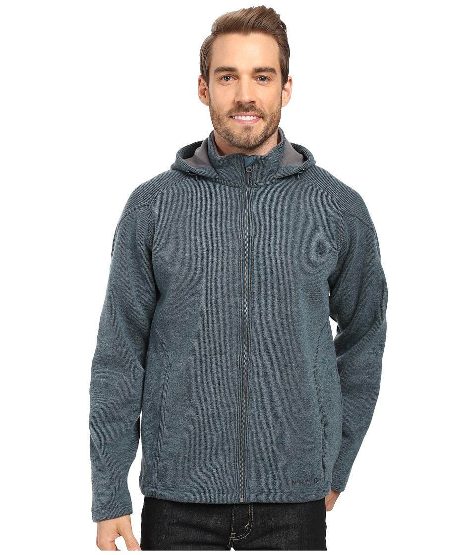 Merrell - Big Sky Hoodie (Blue Spruce Heather) Men's Sweatshirt