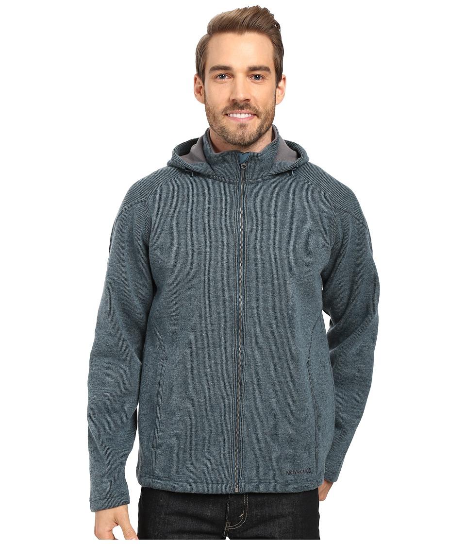 Merrell - Big Sky Hoodie (Blue Spruce Heather) Men's Sweatshirt