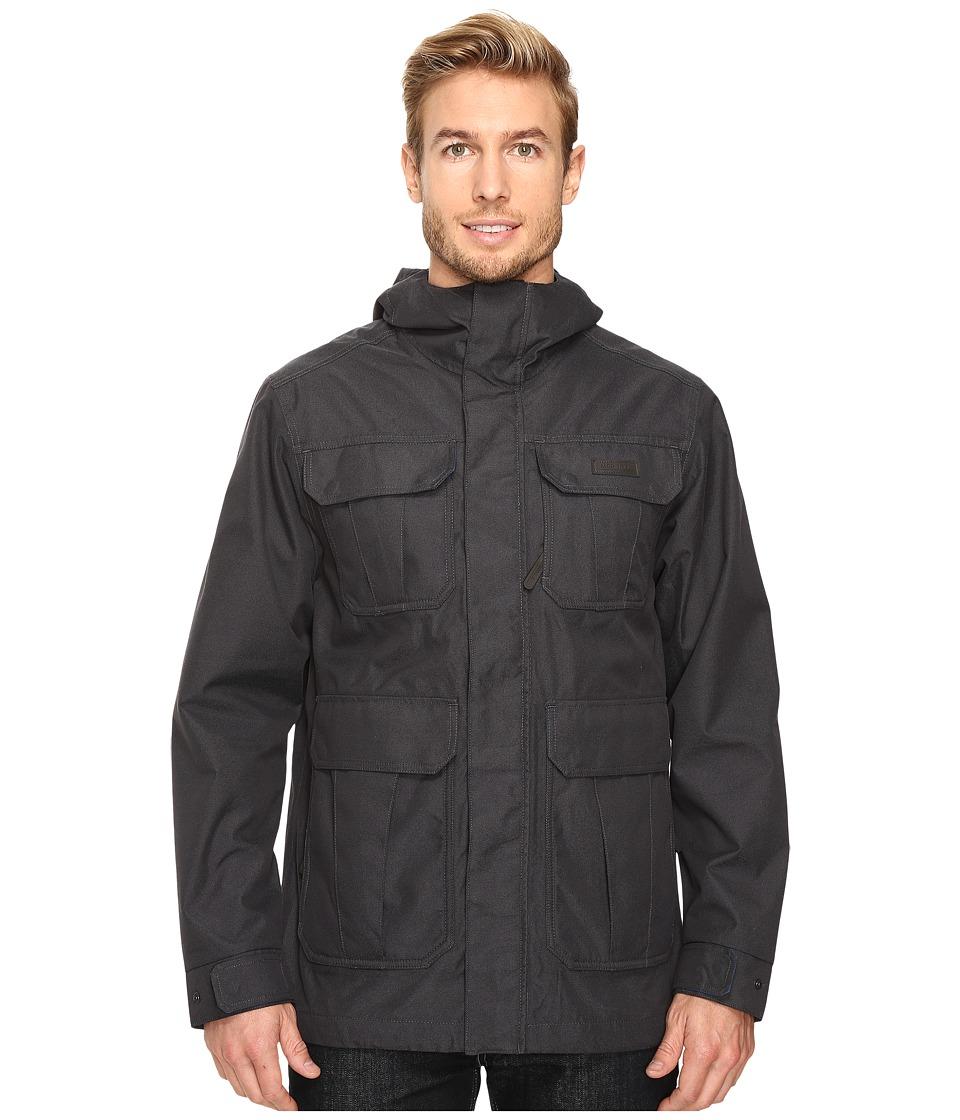 Merrell - Ansel Flannel Lined Jacket (Black) Men's Coat