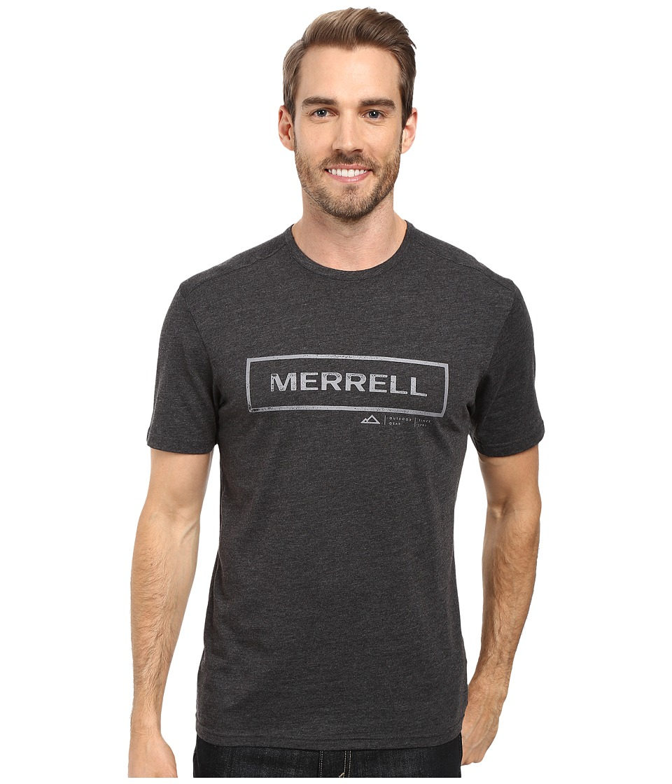 Merrell - M-Stamped Tee (Black) Men's T Shirt
