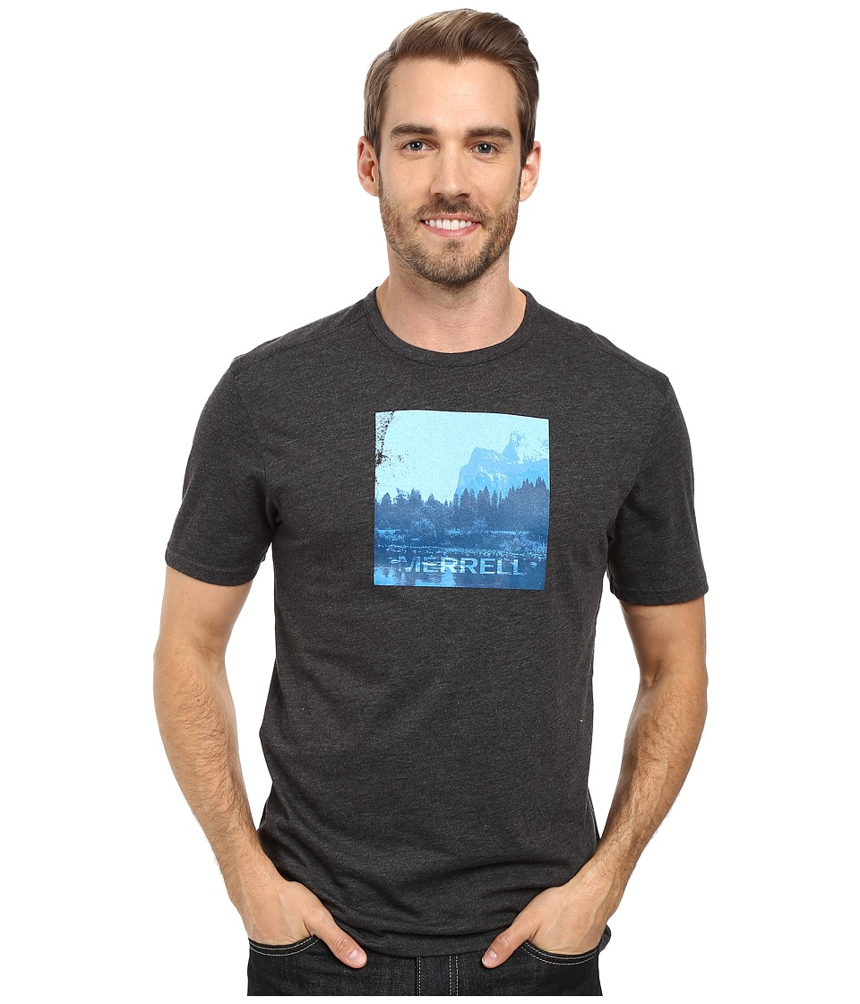 Merrell - Half Dome Tee (Black) Men's T Shirt