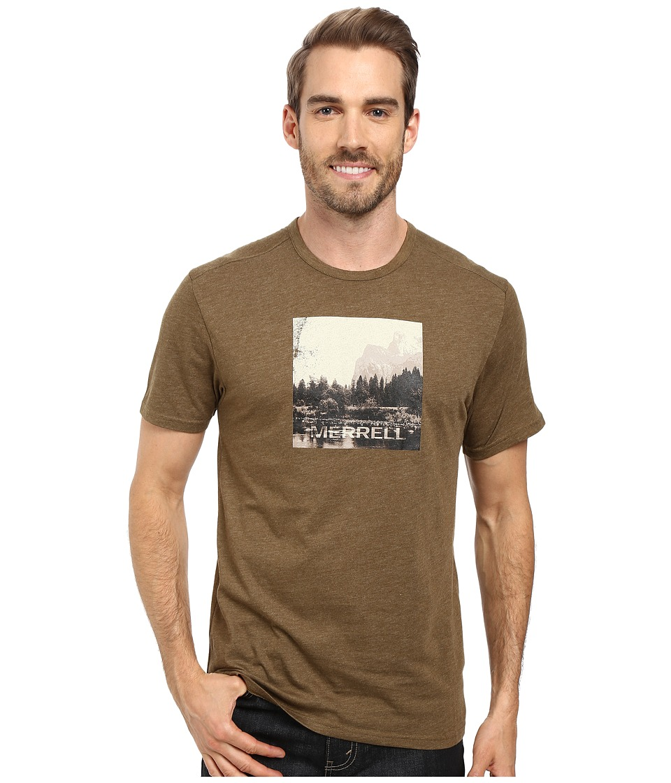Merrell - Half Dome Tee (Beech) Men's T Shirt