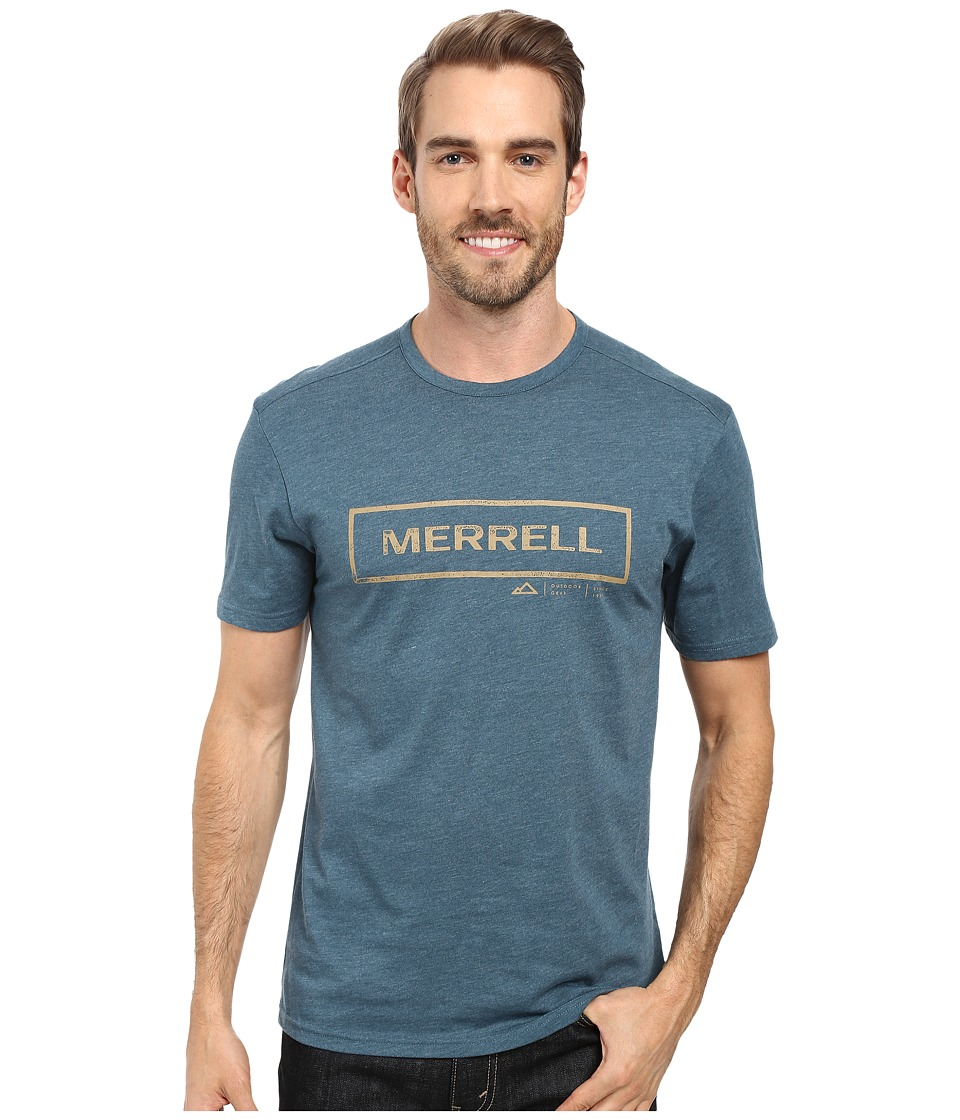 Merrell - M-Stamped Tee (Blue Spruce) Men's T Shirt