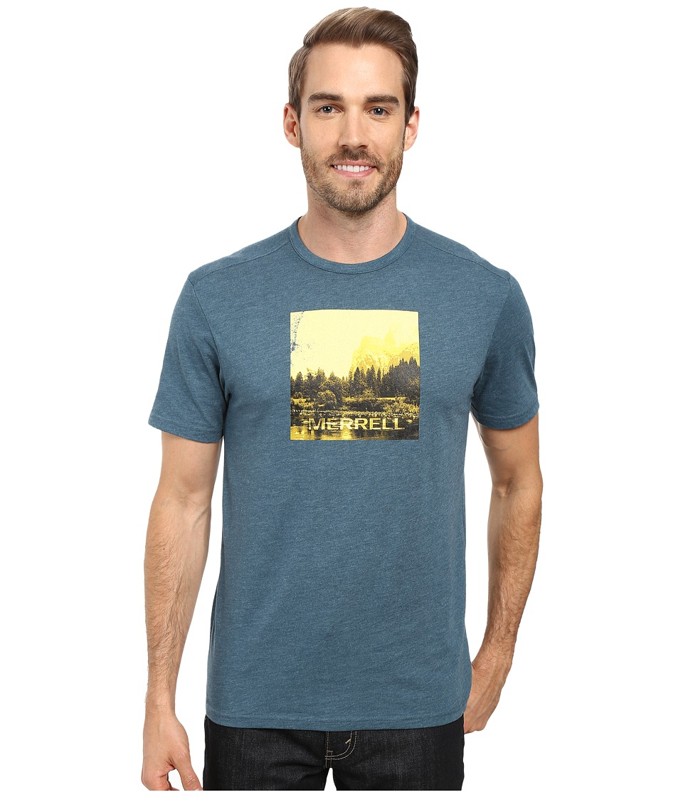 Merrell - Half Dome Tee (Blue Spruce) Men's T Shirt