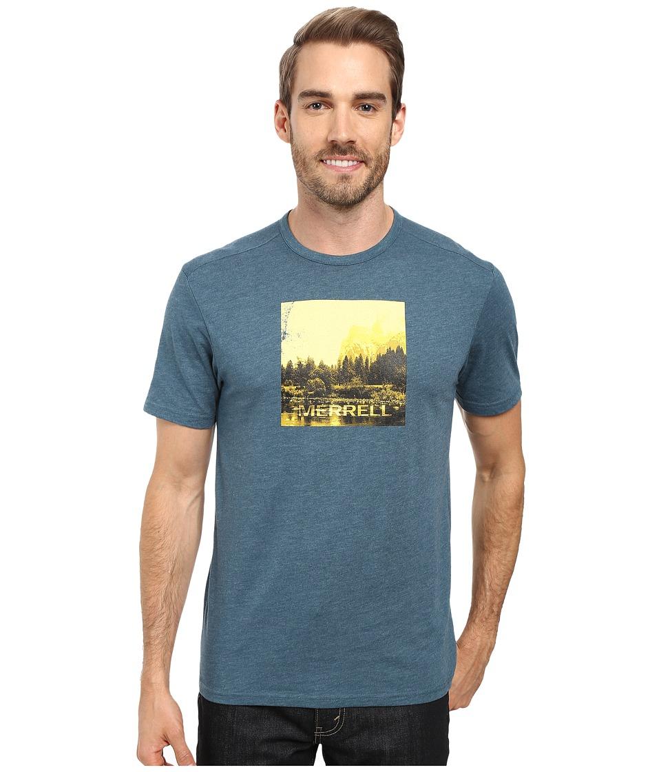 Merrell - Half Dome Tee (Blue Spruce) Men's T Shirt