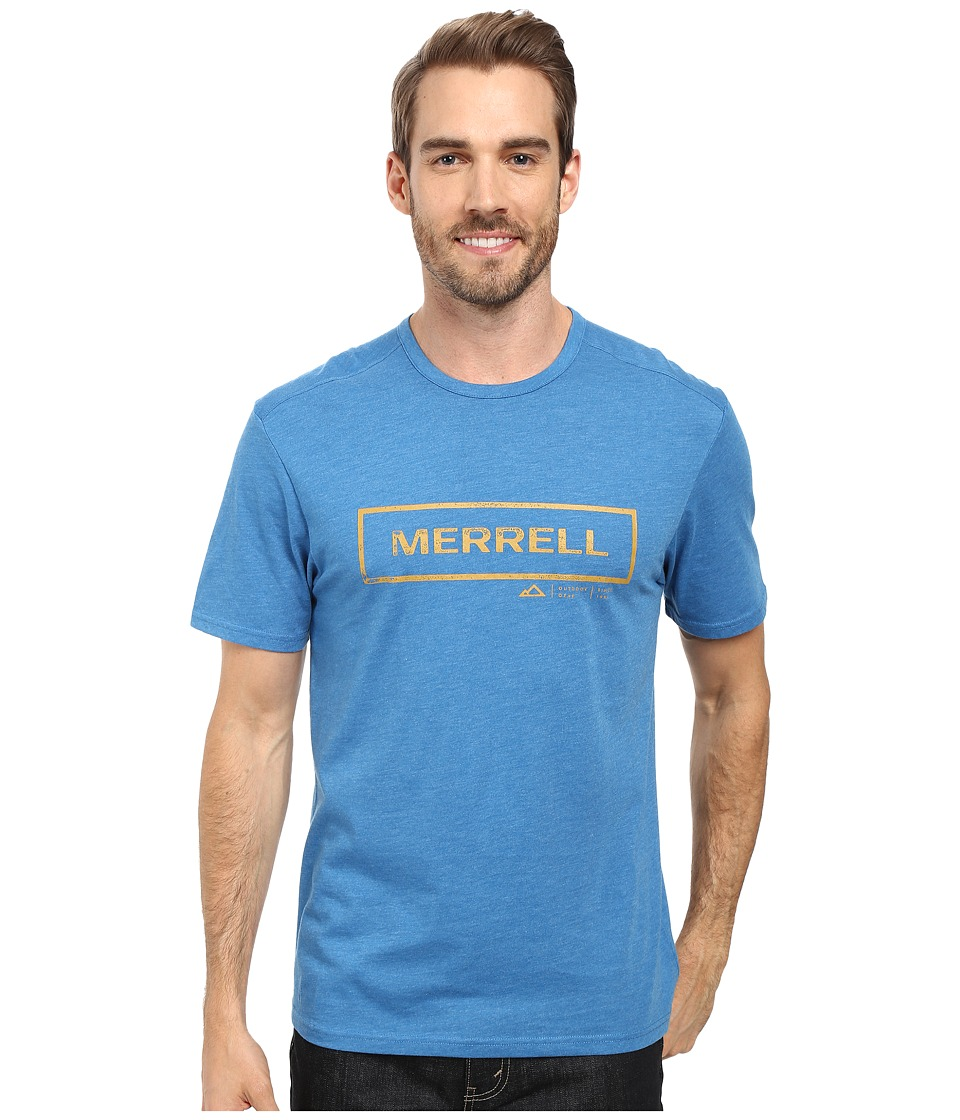 Merrell - M-Stamped Tee (Snorkel Blue) Men's T Shirt