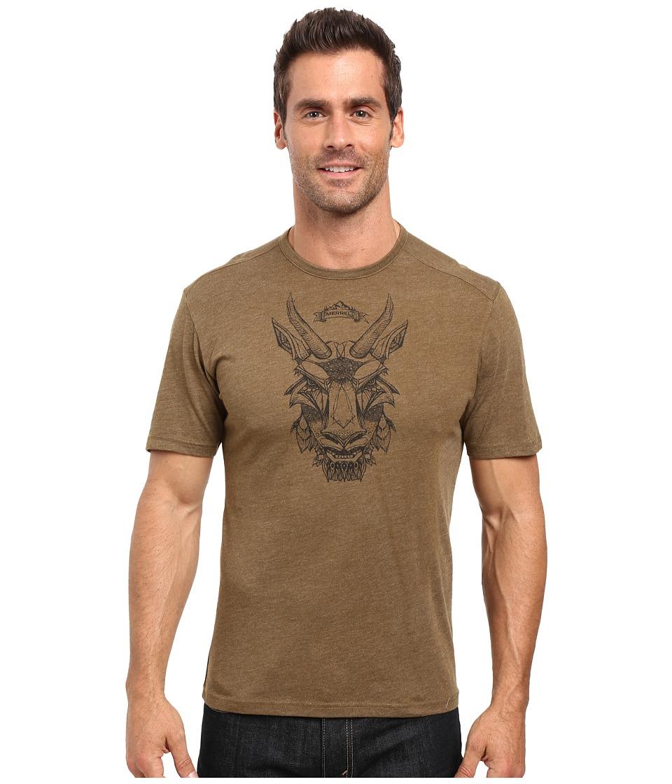 Merrell - Mystic Goat Tee (Beech) Men's T Shirt