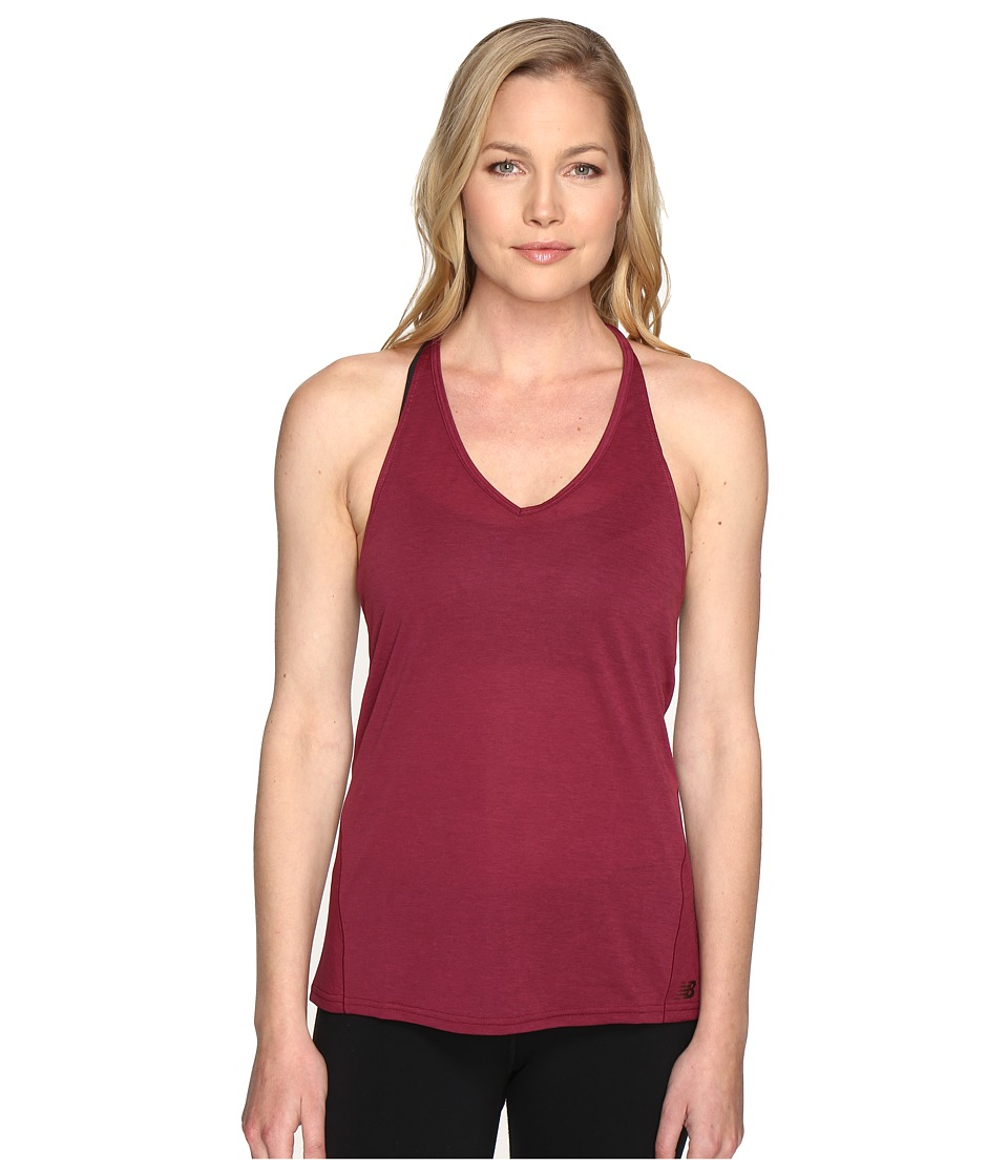 New Balance - Free Flow Tank Top (Sedona) Women's Sleeveless