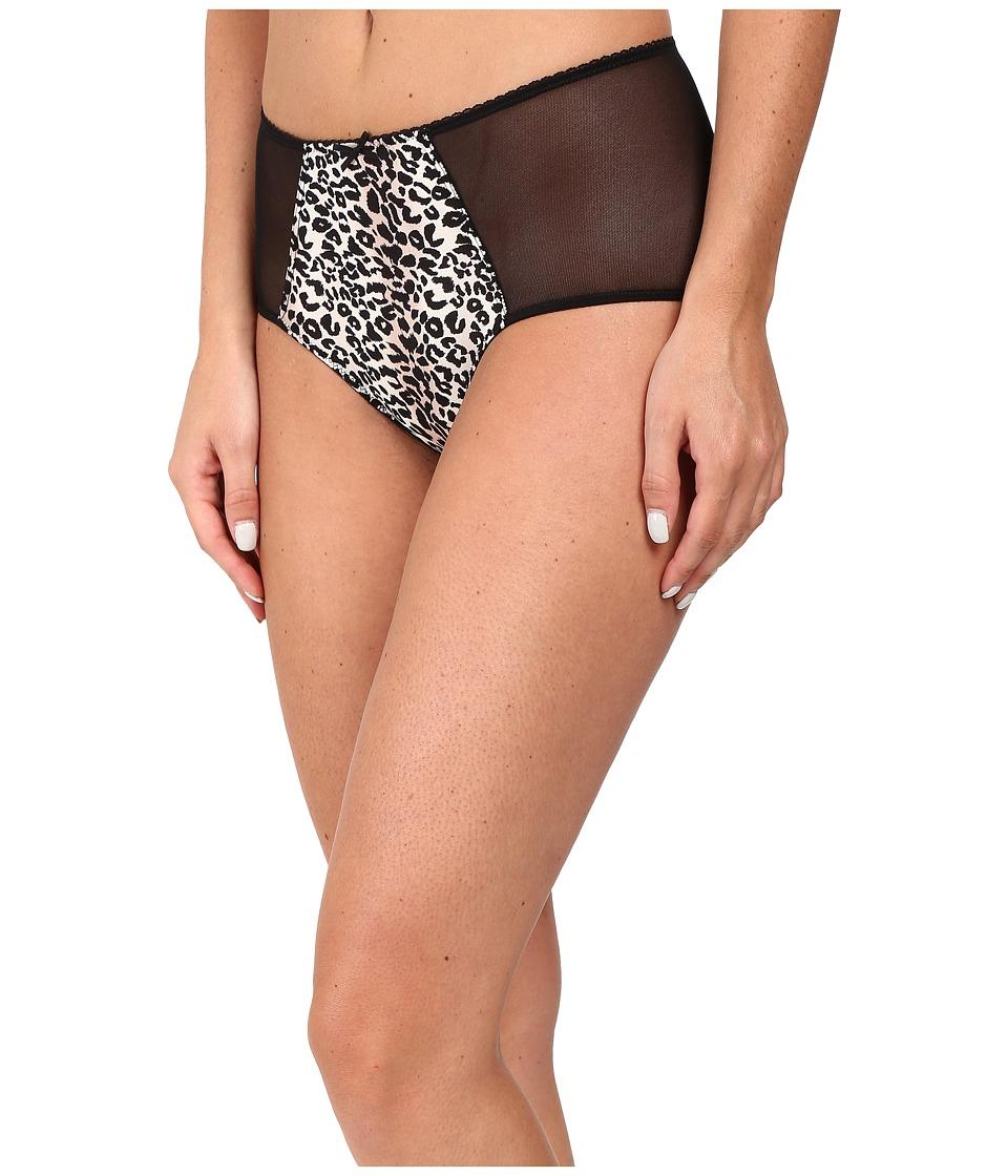 Betsey Johnson - Cutie Booty Retro Bikini J1077 (Wild Kitty) Women's Underwear