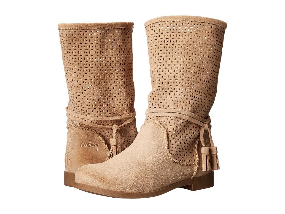 Coolway - Nila (Beige) Women's Boots