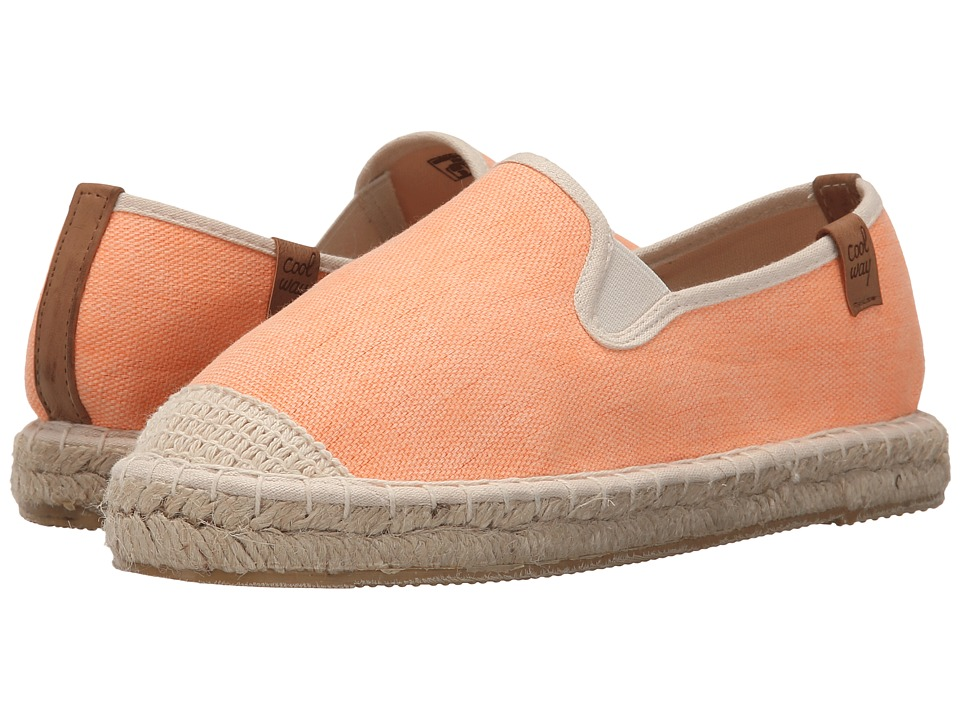Coolway - Jitsu (Orange) Women's Slip on Shoes