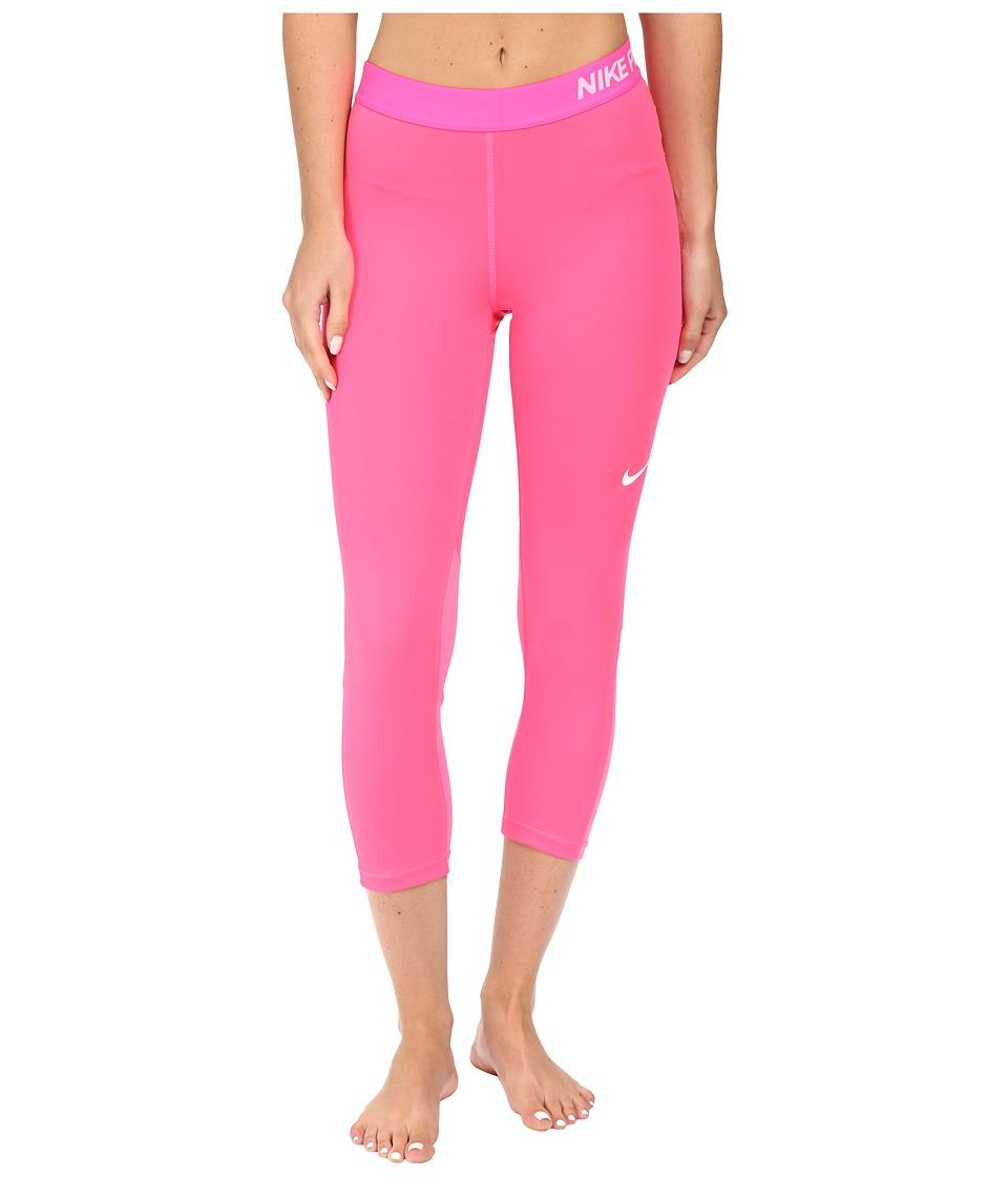 Nike - Pro Cool Capris (Hyper Pink) Women's Capri