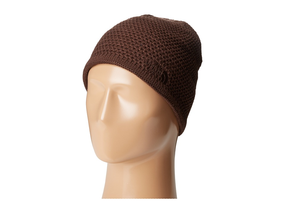 The North Face - Wicked Beanie (Coffee Bean Brown) Beanies