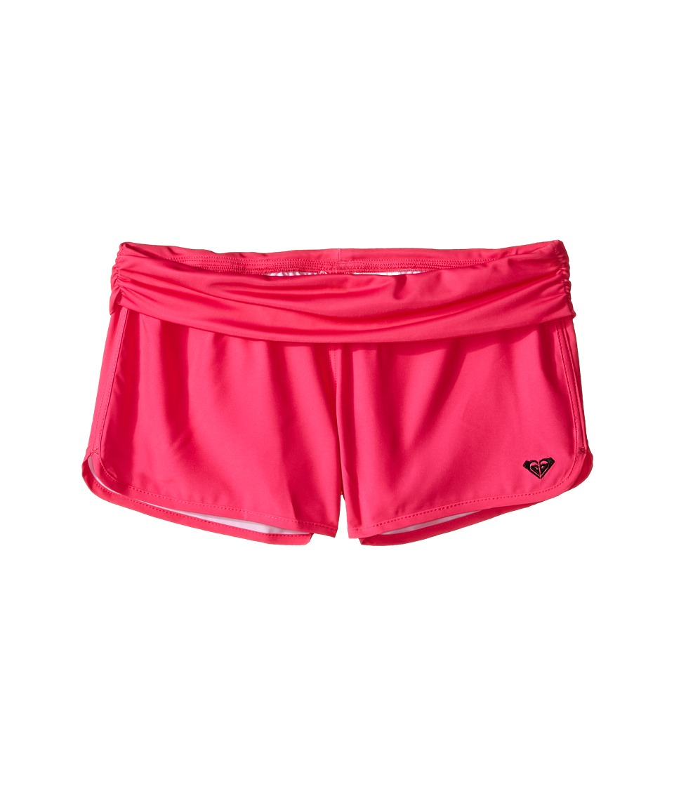 Roxy Kids - Core Boardshorts (Big Kids) (Camellia Rose) Girl's Swimwear