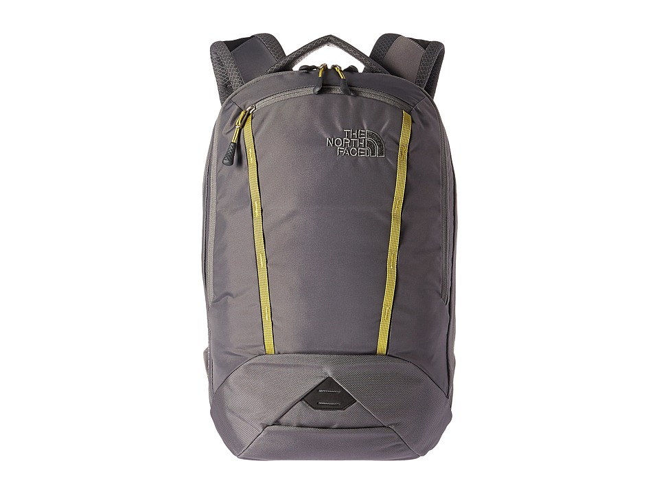 The North Face - Microbyte Backpack (Fusebox Grey/Lemongrass Green) Backpack Bags