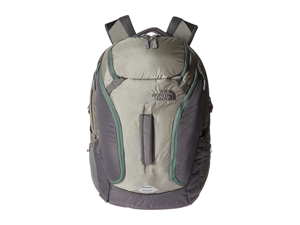 The North Face - Big Shot (Moon Mist Grey/Duck Green (Prior Season)) Backpack Bags