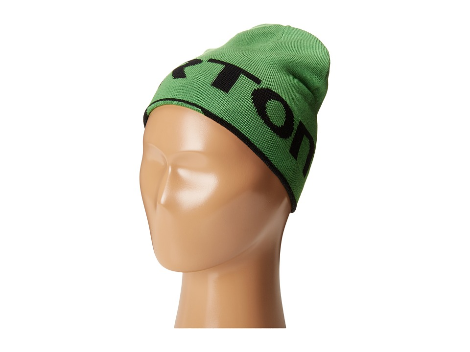 Burton - Billboard Beanie (Little Kids/Big Kids) (Slime/True Black) Beanies