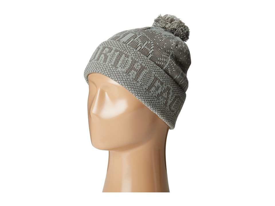 The North Face - Fair Isle Pom Beanie (Fusebox Grey) Beanies