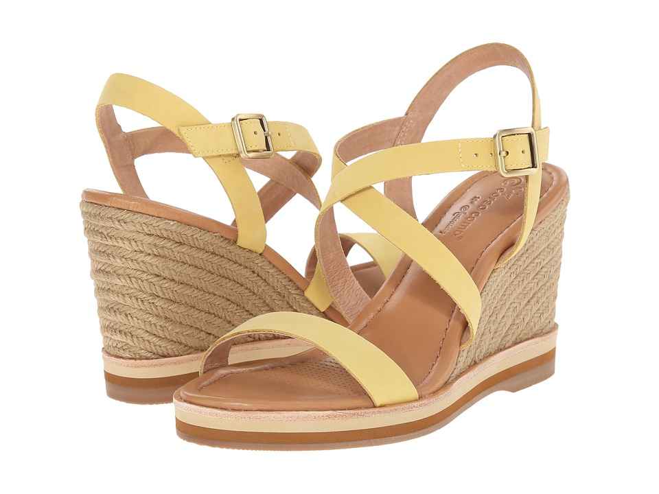 Corso Como - Gladis (Light Yellow Nubuck) Women's Wedge Shoes