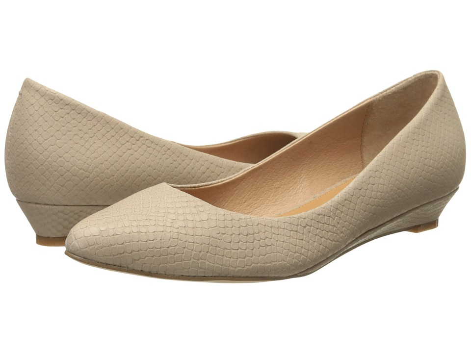 Corso Como - Kellie (Dark Nude Solid Snake) Women's Flat Shoes