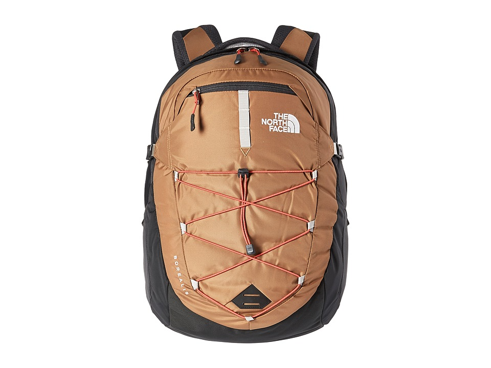 The North Face - Borealis (Dijon Brown/Poinciana Orange) Backpack Bags