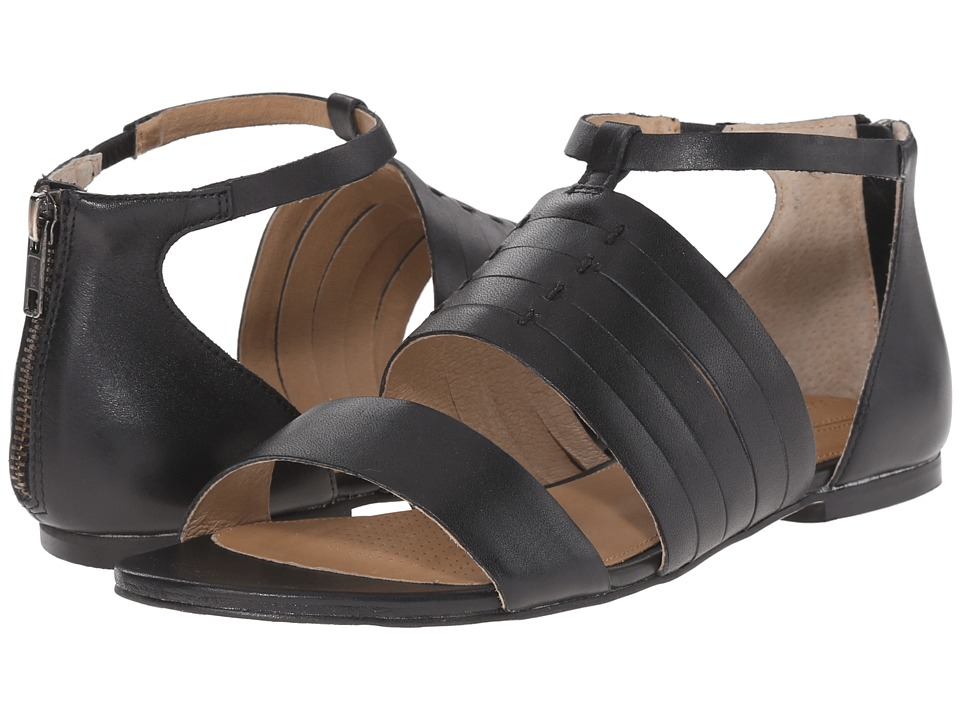 Corso Como - Sprint (Black Leather) Women's Sandals