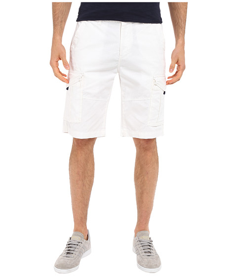 U.S. POLO ASSN. - Ripstop Cargo Shorts (White) Men's Shorts
