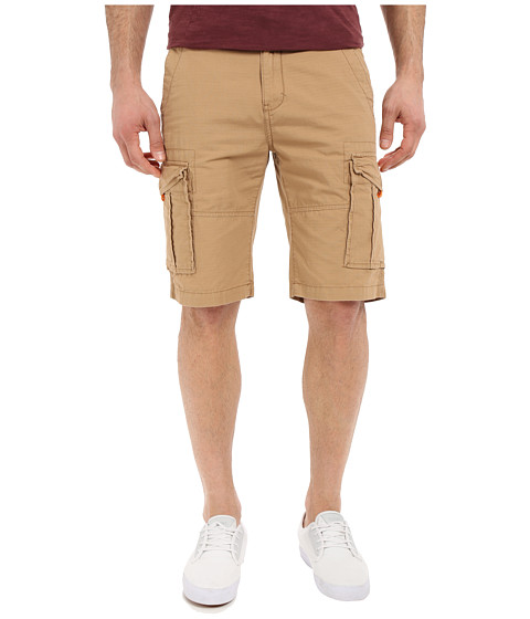 U.S. POLO ASSN. - Ripstop Cargo Shorts (Honey) Men's Shorts