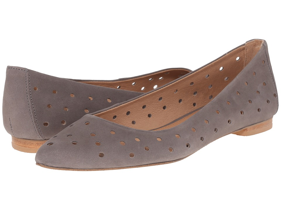 Corso Como - Gabrielle (Grey Nubuck) Women's Flat Shoes