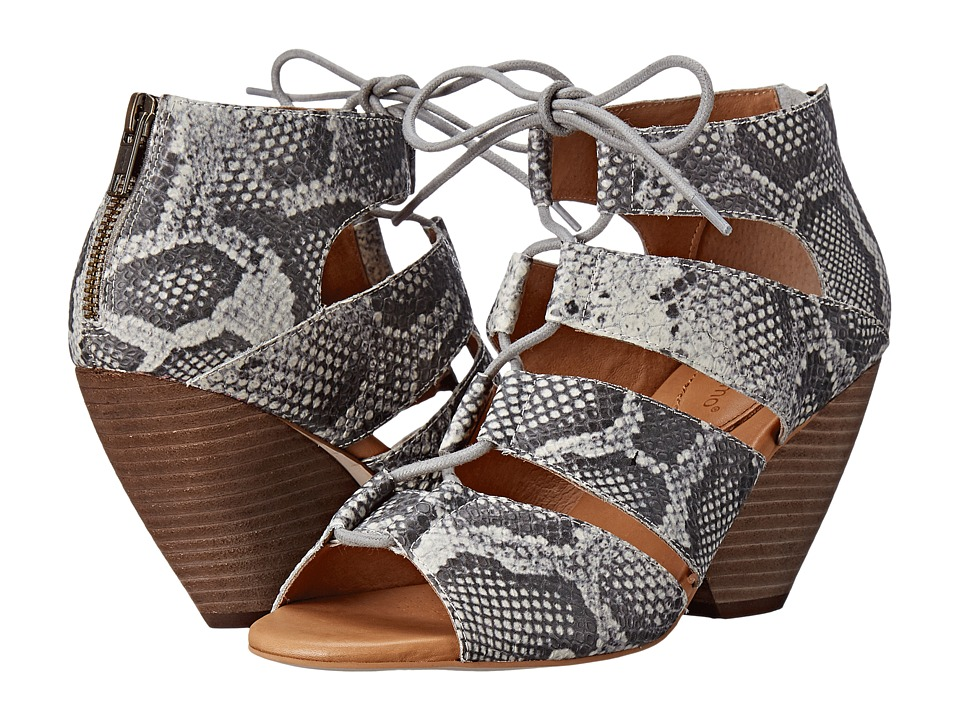 Corso Como - Camino (Grey Multi Snake) High Heels