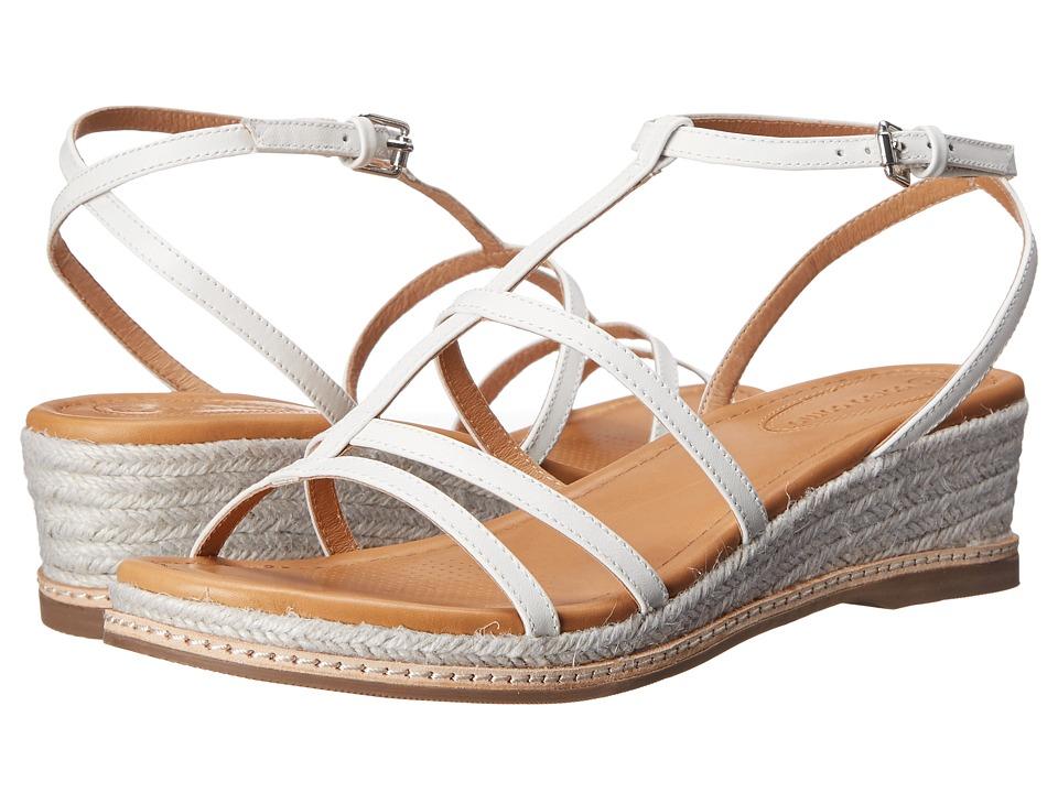 Corso Como - Codi (White Leather) Women's Wedge Shoes