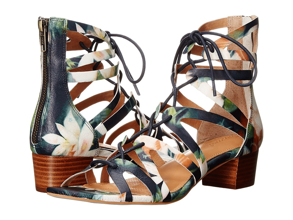 Corso Como - Jamaica (Navy Floral Leather) Women
