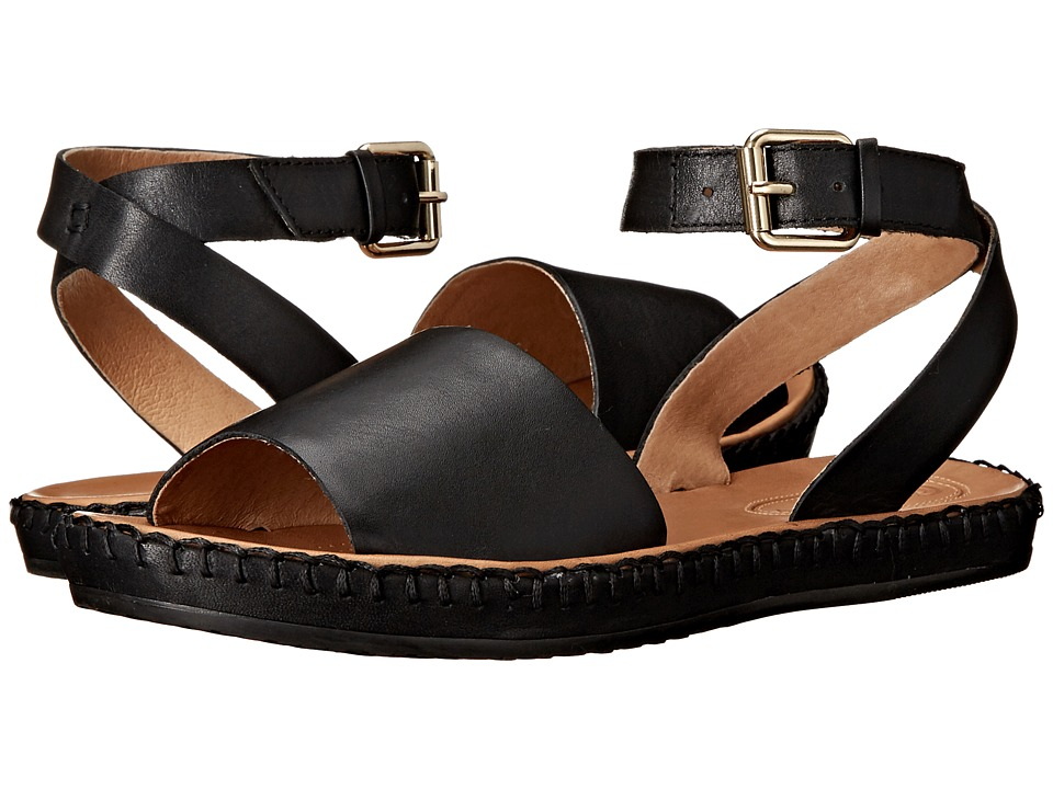 Corso Como - Brinkley (Black Leather) Women's Sandals