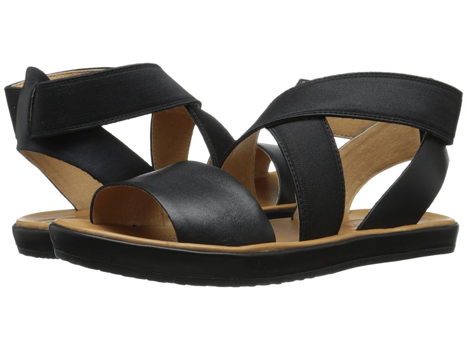 Corso Como - Brune (Black Leather) Women's Sandals