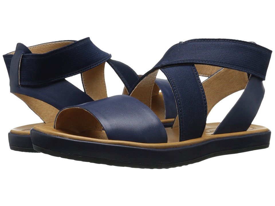 Corso Como - Brune (Navy Leather) Women's Sandals