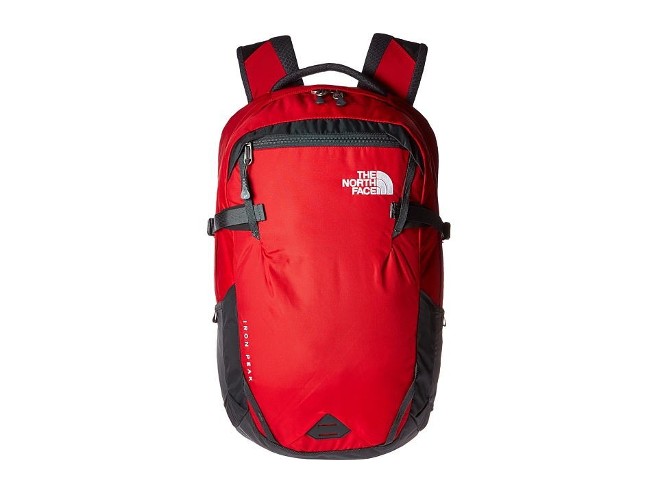The North Face - Iron Peak Backpack (TNF Red/Asphalt Grey) Backpack Bags