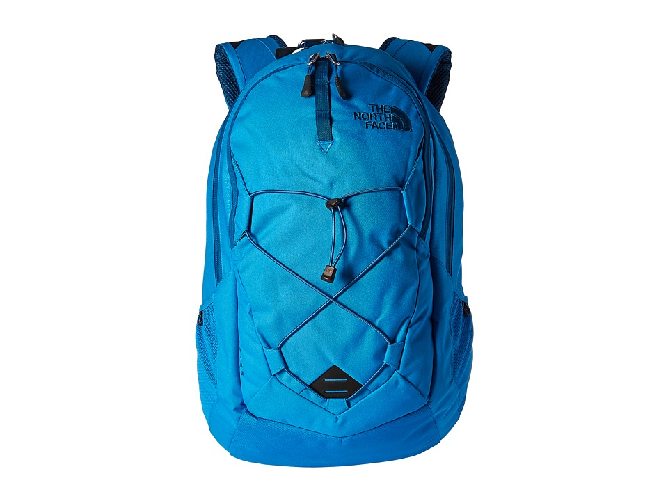 The North Face - Jester (Blue Aster Emboss/Banff Blue) Backpack Bags