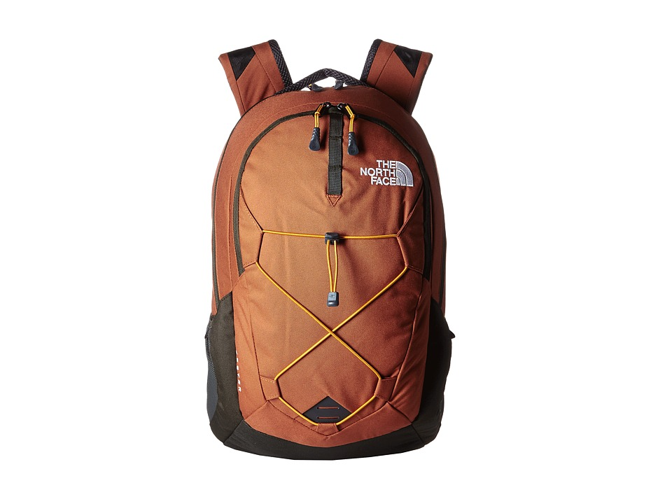 The North Face - Jester (Gingerbread Brown/Citrine Yellow) Backpack Bags