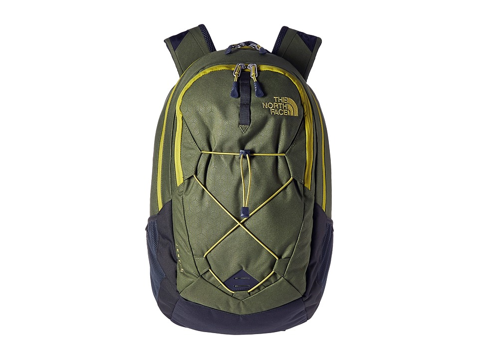 The North Face - Jester (Terrarium Green Emboss/Lemongrass Green) Backpack Bags