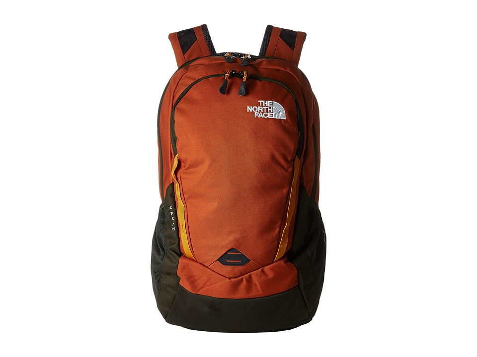 The North Face - Vault (Gingerbread Brown/Citrine Yellow) Backpack Bags