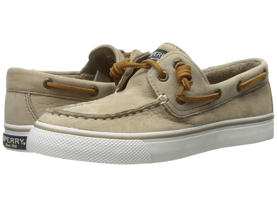 Sperry Bahama Washable Leather (Sand) Women