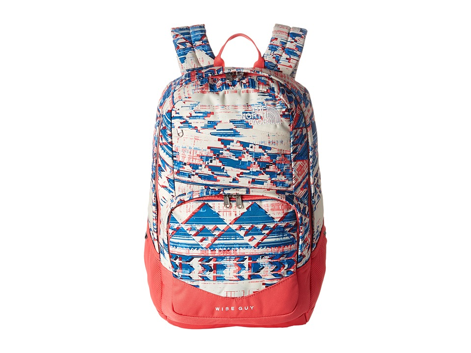 The North Face - Wise Guy Backpack (Native Frequencies Print/Calypso Coral) Backpack Bags