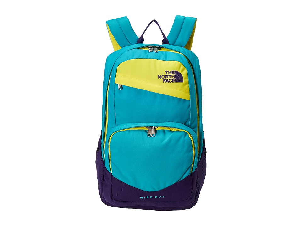 The North Face - Wise Guy Backpack (Bluebird/Blazing Yellow) Backpack Bags