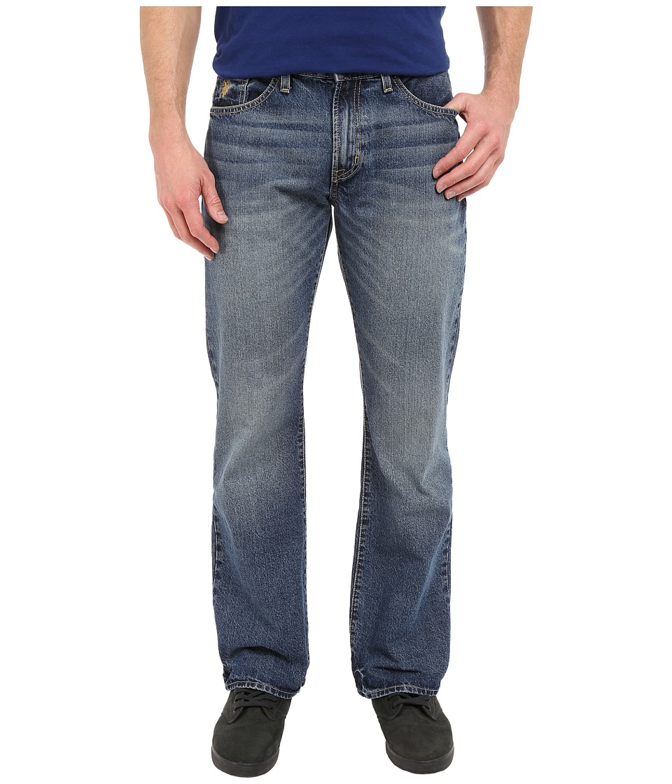U.S. POLO ASSN. - Classic Bootcut Jeans in Blue (Blue) Men's Jeans