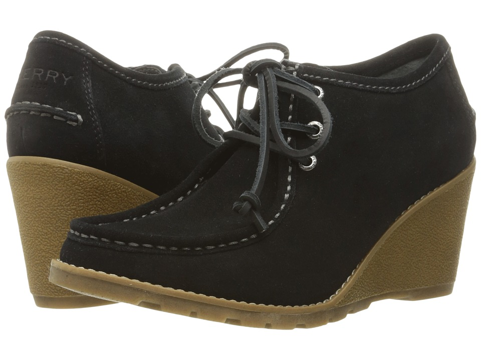 Sperry - Stella Keel (Black) Women's Wedge Shoes