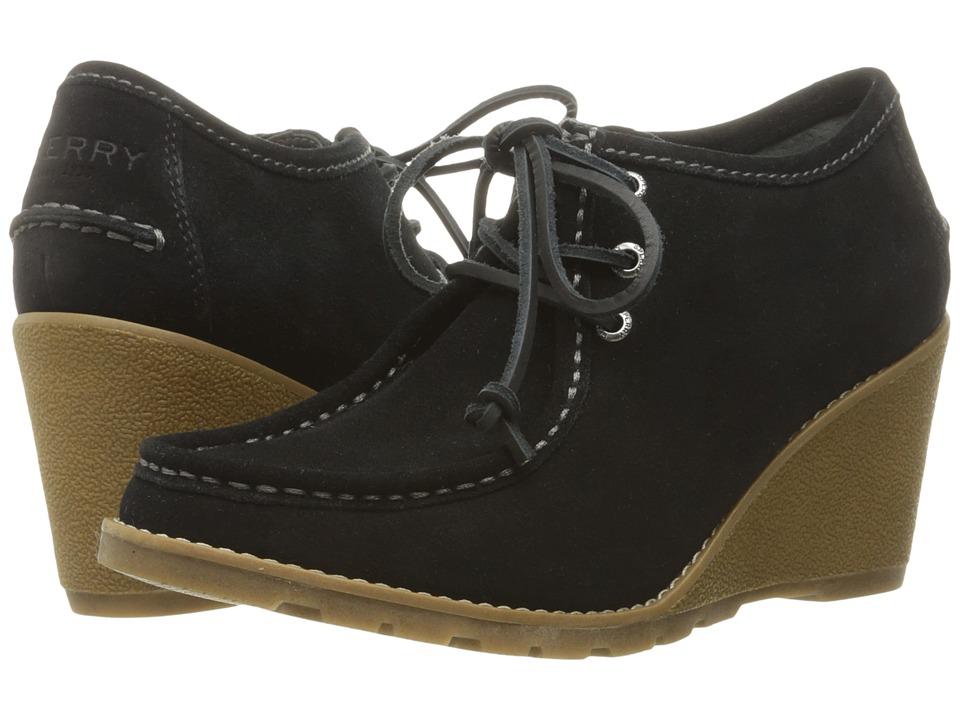 Sperry - Stella Keel (Black) Women's Wedge Shoes