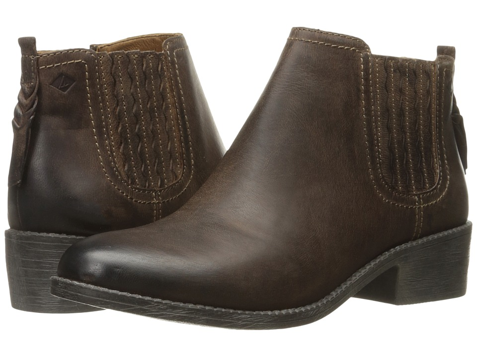 Sperry - Juniper Bree (Clove) Women's Dress Pull-on Boots