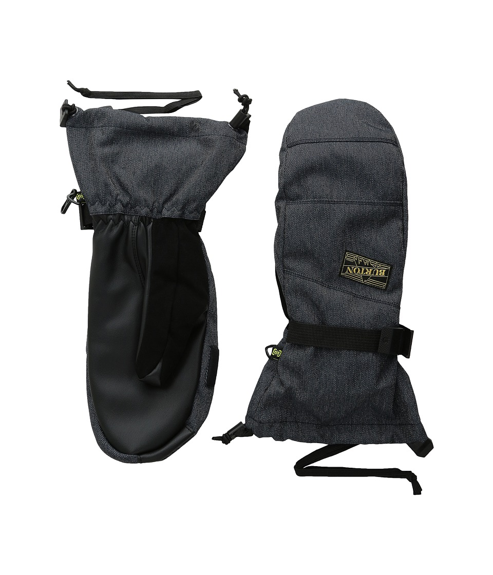 Burton Approach Mitt (Denim) Snowboard Gloves